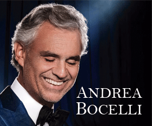 Andrea Bocelli tour 2018